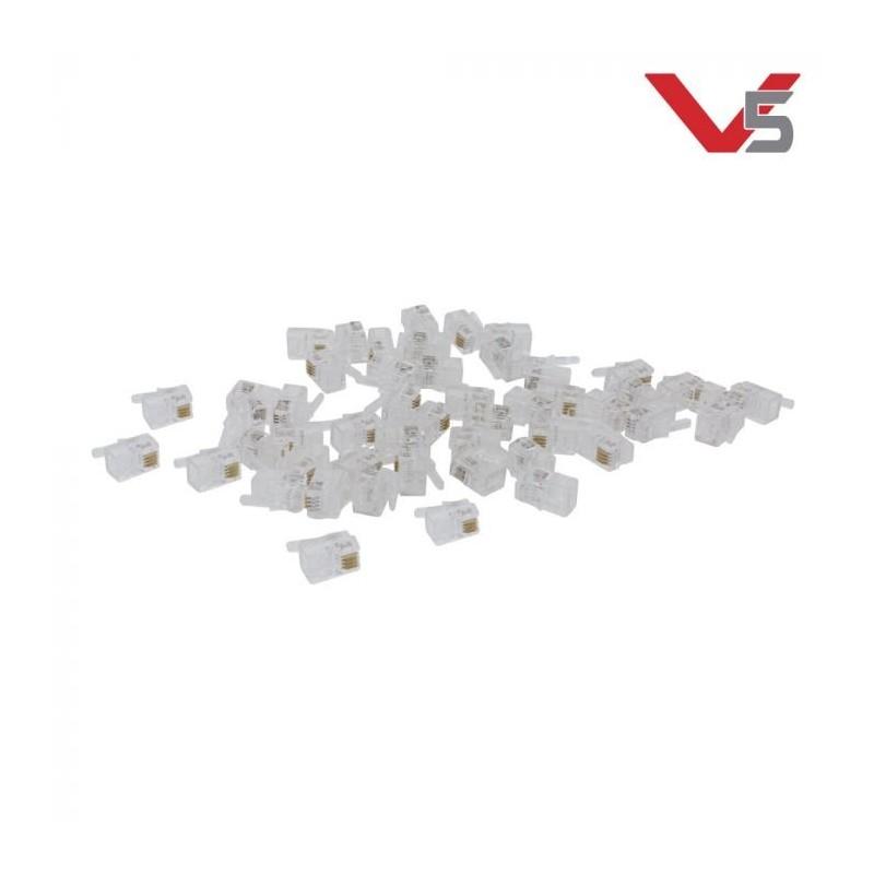Connecteurs de câble Smart VEX V5 (paquet de 50), VEX Robotics 276-5775